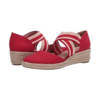 LifeStride ライフストライド レディース 女性用 シューズ 靴 ヒール Keaton - Fire Red
