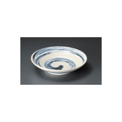 和食器 / めん皿 粉引清流7.5麺皿 寸法:22.5 x 5cm