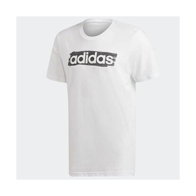 アディダス adidas M CORE リニアグラフィックTシャツ メンズ DV3050  セール アウトレット