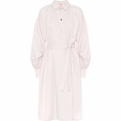 ロクサンダ Roksanda レディース ワンピース シャツワンピース ワンピース・ドレス Simina cotton-poplin shirt dress Oyster