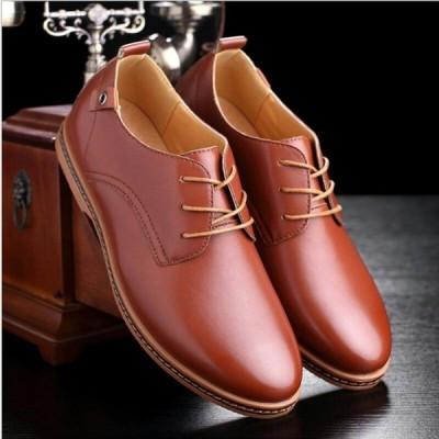 ビジネスシューズ メンズ 靴 革靴 通気性 軽量 大きいサイズ 紳士靴 歩きやすい サラリーマン向け カジュアル人気 通勤 おしゃれ スニーカー