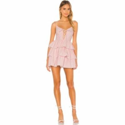 ラヴァーズフレンズ Lovers + Friends レディース ワンピース ミニ丈 ワンピース・ドレス Isabeli Mini Dress Pink/White