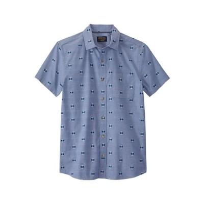 ペンドルトン シャツ トップス メンズ Mens Carson SS Shirt Blue Chambray