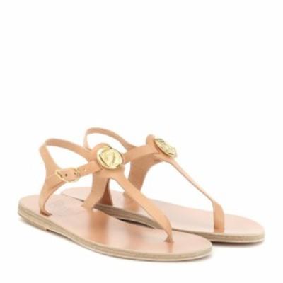エンシェント グリーク サンダルズ Ancient Greek Sandals レディース サンダル・ミュール シューズ・靴 Lito Coin leather sandals Natu