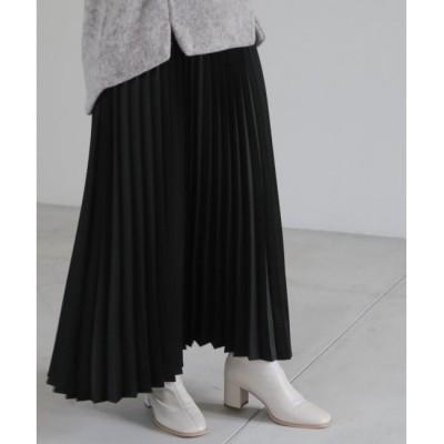 【レイカズン/Ray Cassin】 エンボスレザーサテンスカート