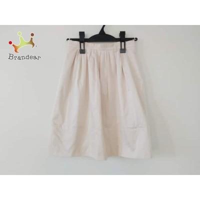 ジャスグリッティー JUSGLITTY スカート サイズ1 S レディース 美品 ベージュ  スペシャル特価 20210313