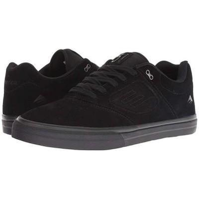 エメリカ Reynolds 3 G6 Vulc メンズ スニーカー 靴 シューズ Black/Black