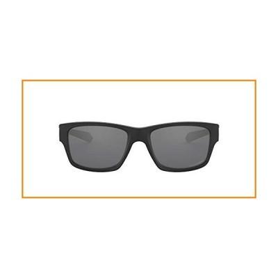 Oakley Men's OO9135 Jupiter Squared Sunglasses, Matte Black/Black Iridium Polarized, 56 mm_並行輸入品