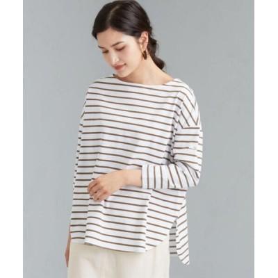 green label relaxing / [ Livelihood (ライブリフッド) ] SC バスク Tシャツ WOMEN トップス > Tシャツ/カットソー