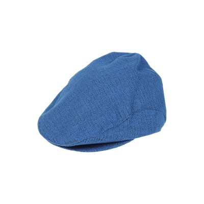 HARMONT&BLAINE 帽子 ブルー 55 コットン 100% 帽子