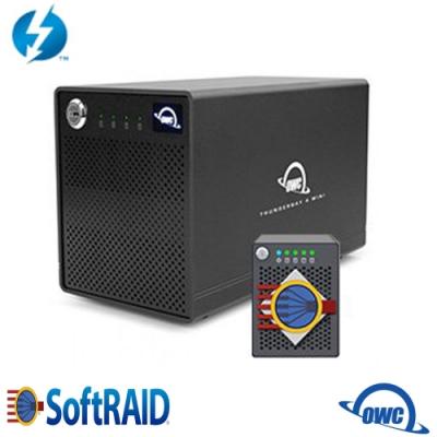 OWC ThunderBay 4 mini + SoftRAID 5(Thunderbolt2 四槽 2.5 吋硬碟外接盒) 火神的眼淚 推薦使用