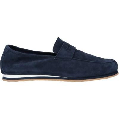 フェデーリ FEDELI メンズ ローファー シューズ・靴 loafers Dark blue
