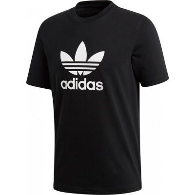 アディダス adidas メンズ Tシャツ トップス Originals Trefoil Tee Black/White