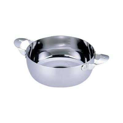 料理鍋 両手鍋 共柄 デンジ 16cm IH対応 100V対応 200V対応 鍋(8-0062-1101)