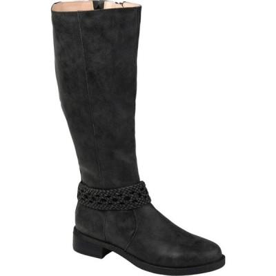 ジュルネ コレクション Journee Collection レディース ブーツ シューズ・靴 Paisley Boot - Extra Wide Calf Black