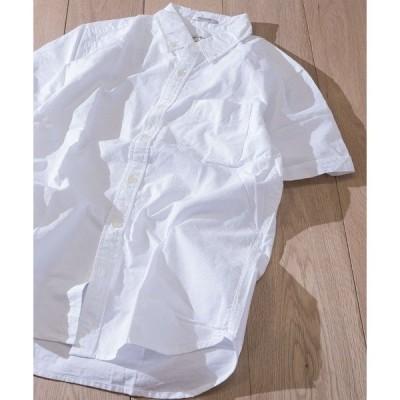シャツ ブラウス 【a】ライトオックス半袖シャツ