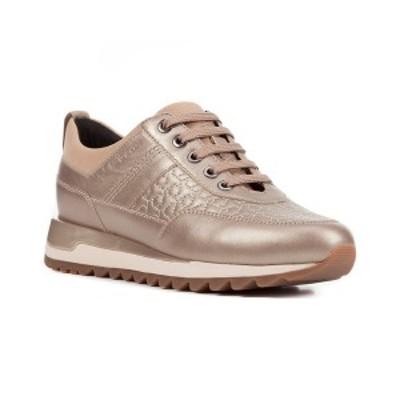 ジェオックス レディース サンダル シューズ Geox Tabelya Leather Sneaker champagne leather