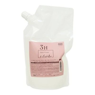ナンバースリー ルファルデ アウタークリーム 3剤 H しっとり 500g