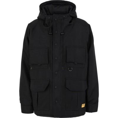 キャピタラー カジュアル CATERPILLAR メンズ ジャケット アウター smock jacket Black