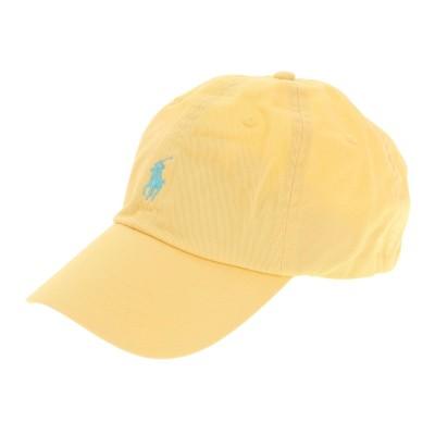 ポロ ラルフ ローレン帽子CLS SPRT 16/1 TWI キャップ MAPOHGS0J420492700イエロー