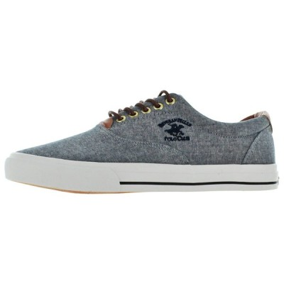 カジュアルシューズ 海外直輸入ブランド Beverly Hills Polo Club Men's Canvas Fashion Boat Shoes Sneakers