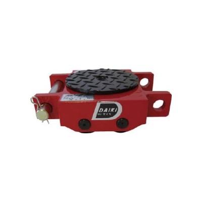 ダイキ スピードローラ低床ダブル型ウレタン車輪3ton 269 x 242 x 120 mm DUW-3S