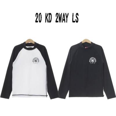 21 DC ディーシー ロンT 20 KD 2WAY LS Tシャツ 日本正規品