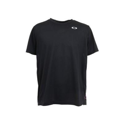 オークリー(OAKLEY) テニス SLANT ロゴプリント 半袖Tシャツ FOA402450-02E (メンズ)