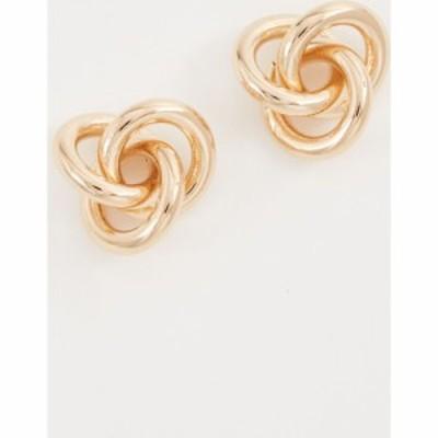 クローバーポスト Cloverpost レディース イヤリング・ピアス ジュエリー・アクセサリー Fortune Earrings Yellow Gold