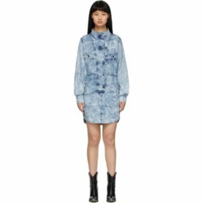 イザベル マラン Isabel Marant Etoile レディース ワンピース デニム シャツワンピース ワンピース・ドレス blue denim inaroa shirt dr