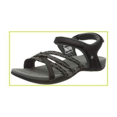 HI-TEC Women's Athletic Sandals Sports, Black Black Charcoal 023, 9【並行輸入品】
