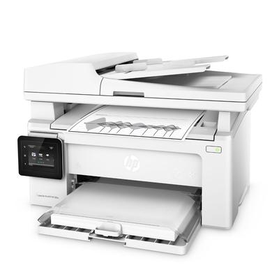 HP LaserJet Pro M130fw 黑白無線 WiFi 傳真四合一觸控螢幕雷射印表機