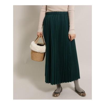 ヘリンボンプリーツスカート