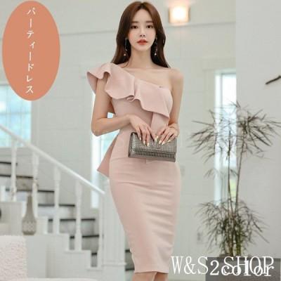 パーティードレス結婚式40代50代20代韓国風レディースお呼ばれ結婚式ドレスお出かけカジュアル通勤OL
