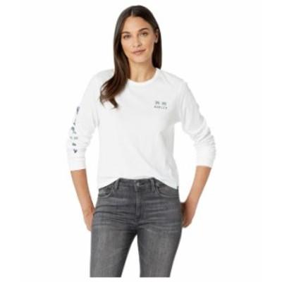 ハーレー レディース シャツ トップス Mingo Perfect Long Sleeve T-Shirt White