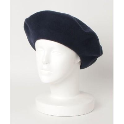 FUNALIVE / 【JABURO】ウール ビッグベレー帽 MEN 帽子 > ハンチング/ベレー帽