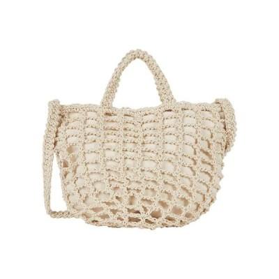 メイドウェル レディース ハンドバッグ バッグ Crochet Rope Tote