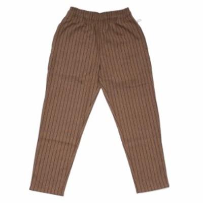 【ノベルティプレゼント中!!】 新品 クックマン Cookman Chef Pants シェフ パンツ Wool Mix Stripe BEIGE ベージュ メンズ レディース