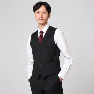 タケオ キクチ TAKEO KIKUCHI 【Sサイズ-】サージ ベスト (ブラック)