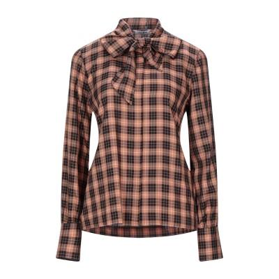 カリバン CALIBAN シャツ ブラウン 38 指定外繊維(テンセル)® 100% シャツ