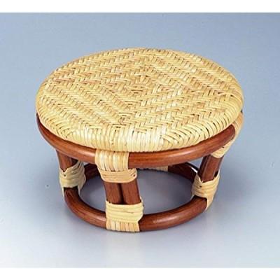 《ラタン 籐》正座椅子 SZ-202A(ゴールド)