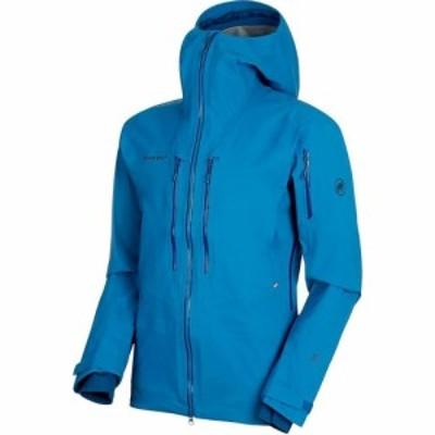 マムート Mammut メンズ スキー・スノーボード フード ジャケット アウター Haldigrat HS Hooded Jacket Sapphire