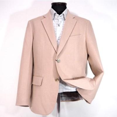 ジーゲラン カシミヤシルク シングルジャケット カシミヤ M/L メンズ ファッション 服 カジュアル 日本製 秋冬