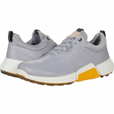 エコー ECCO Golf メンズ スニーカー シューズ・靴 Biom Hybrid 4 GORE-TEX Silver Grey Cow Leather