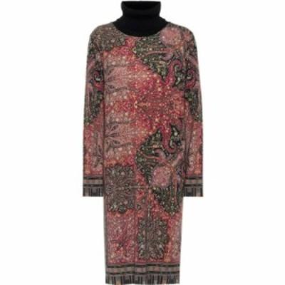 エトロ Etro レディース ワンピース ミドル丈 ワンピース・ドレス paisley wool midi dress