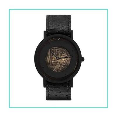 【新品】South Lane Stainless Steel Swiss-Quartz Leather Calfskin Strap, Black, 20 Casual Watch (Model: core-SL-114)(並行輸入品)