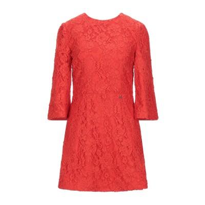 ELISABETTA FRANCHI ミニワンピース&ドレス レッド 42 ナイロン 69% / ポリエステル 31% ミニワンピース&ドレス