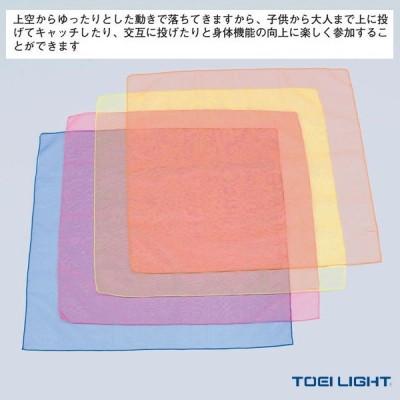 TOEI(トーエイ) ニュースポーツ・リクレエーション設備・備品  浮遊スカーフ60/4枚1組(B-2306)