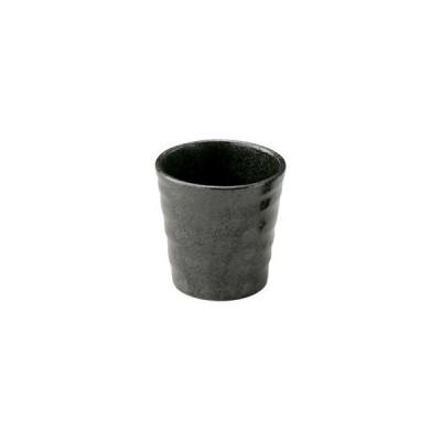 和食器らせんブラック カップ(S)/大きさ・8.2×8.5cm・240cc