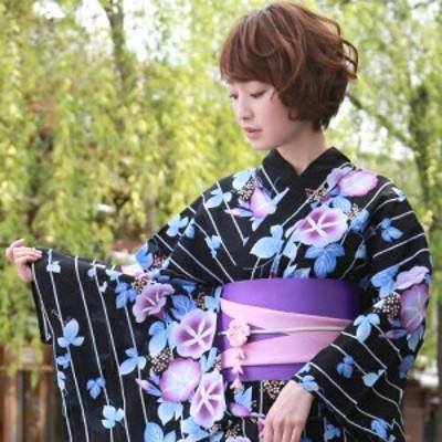 日本製 伊賀組み紐 帯飾り ぶら下がり付きちりめんつまみ細工の花飾り 3色 赤 青 ピンク 夏 浴衣 帯締め